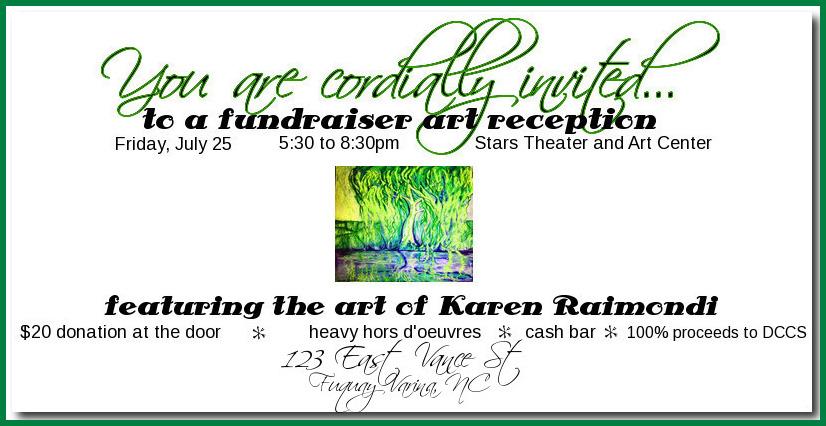 art reception invite